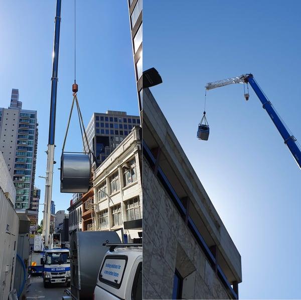 Auckland District Court Fan Installation